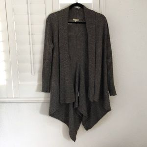 Eileen Fisher Dark Gray Wool Cardigan Sweater